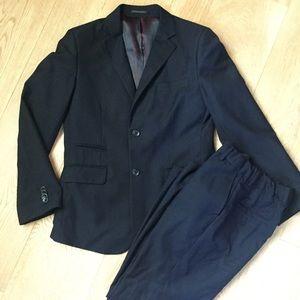 Boys Isaac Mizrahi Slim Suit